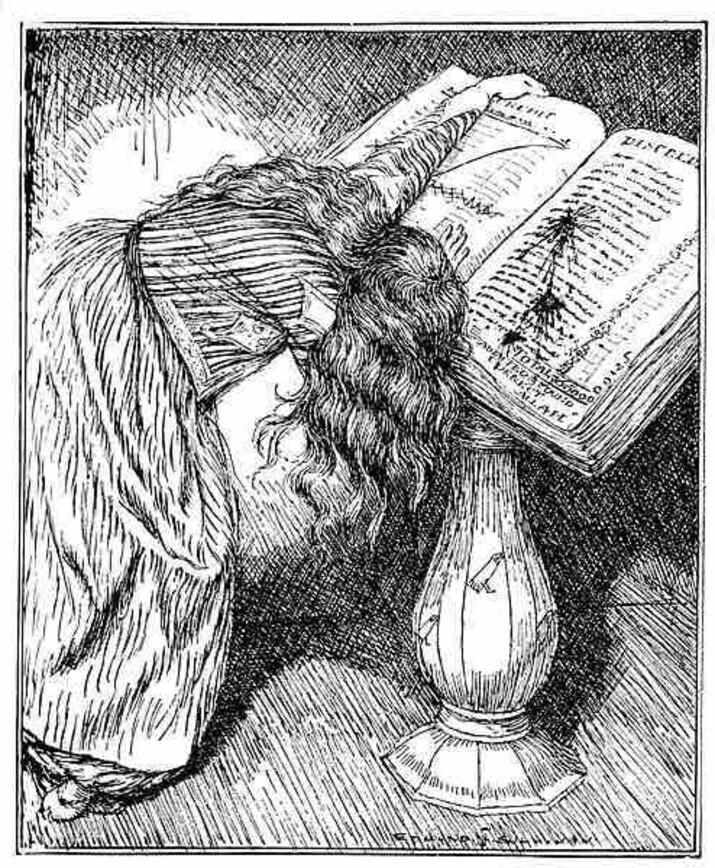 Ilustratie Edmun J. Sullivan