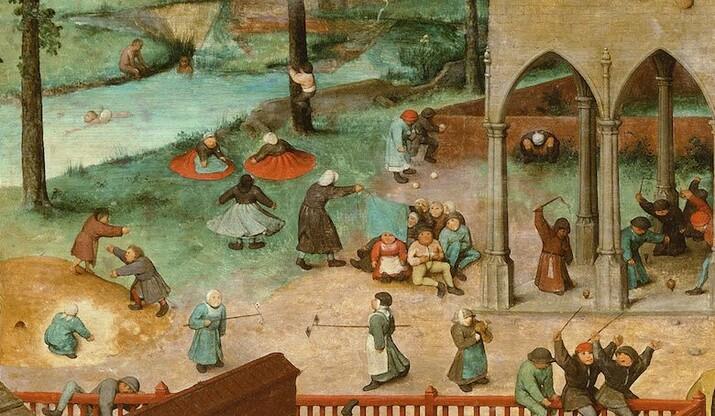 Pieter Bruegel cel Bătrîn - Jocuri de copii