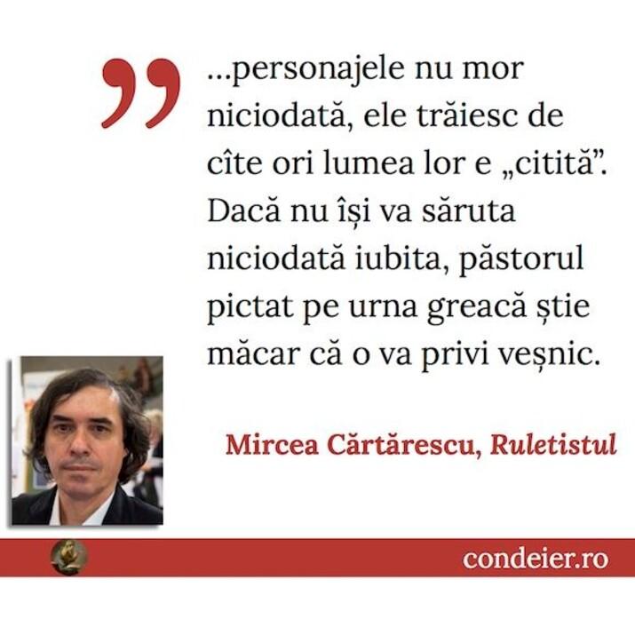 Mircea Cartarescu Ruletistul