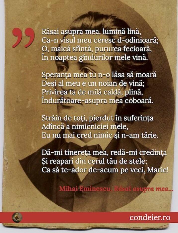 Mihai Eminescu Rasai