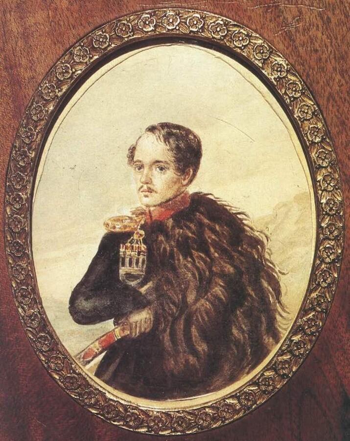 Lermontov Autoportret