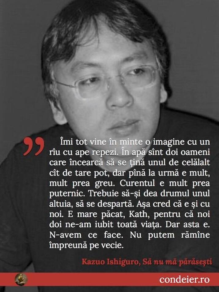 citat Kazuo Ishiguro