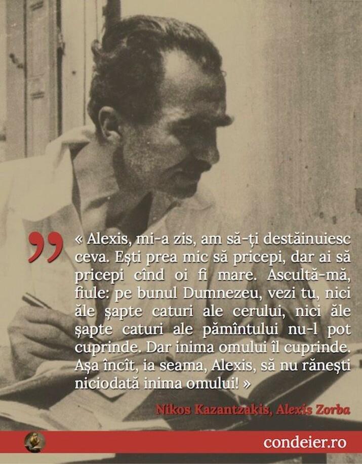 citat Kazantzakis Zorba