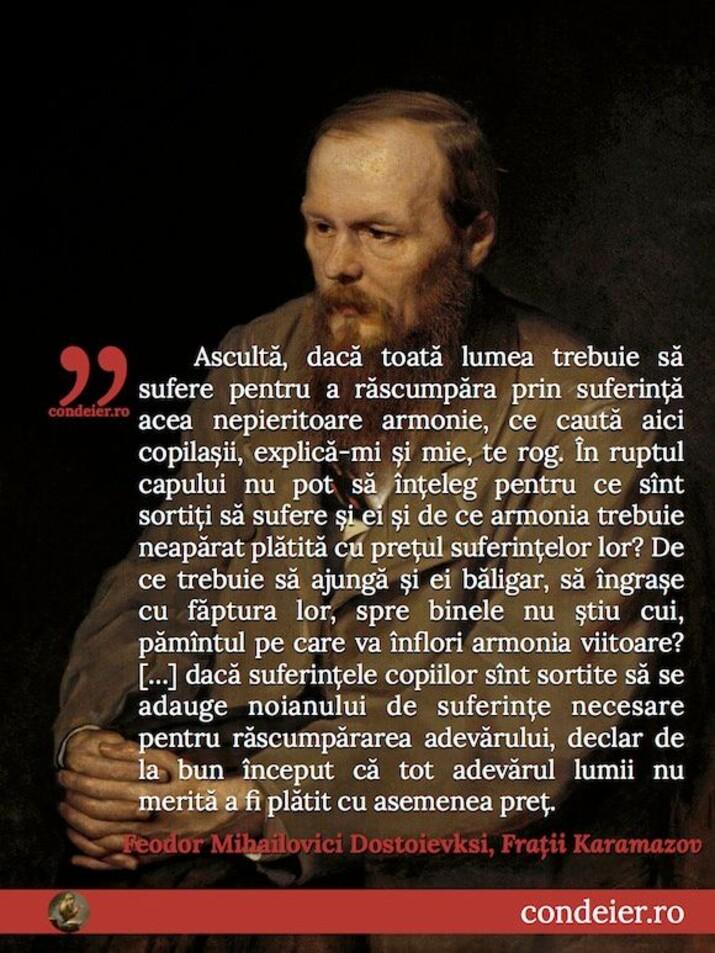 citat Dostoievski
