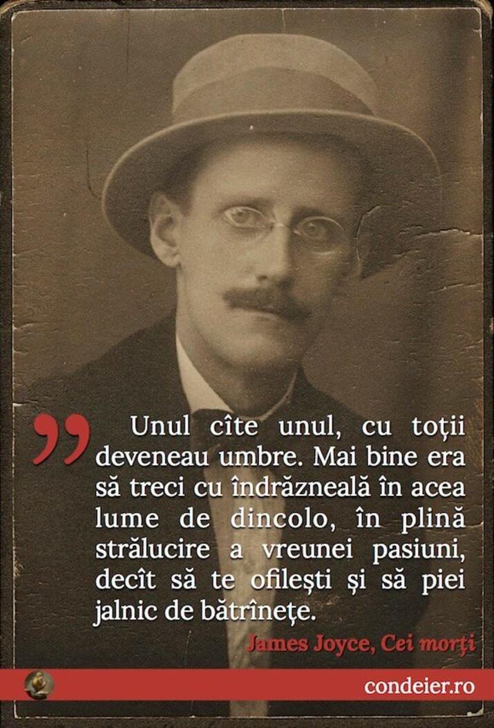 citat James Joyce